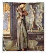 Pygmalion And The Image - The Heart Desires Fleece Blanket