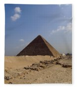 Pyramids Of Giza 30 Fleece Blanket