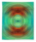 Qi - Energy Art By Sharon Cummings Fleece Blanket