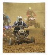 Quad Race Fleece Blanket
