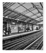 Quai De La Gare Fleece Blanket