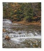 Quarry Rock Falls Fleece Blanket
