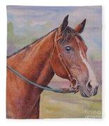 Quarter Horse Fleece Blanket