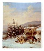 Quebec Fleece Blanket