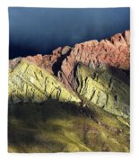 Quebrada De Humahuaca Argentina 3 Fleece Blanket