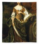 Queen Anne Of England (1665-1714) Fleece Blanket