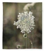 Queen Annes Lace - 3 Fleece Blanket