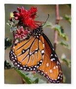 Queen Butterfly Fleece Blanket