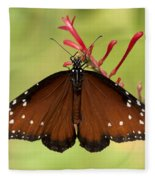 Queen Butterfly Fleece Blanket