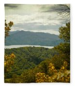 Queen Charlotte Sound Fleece Blanket