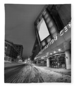 Queen City Winter Wonderland After The Storm Series 0023a Fleece Blanket