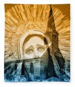 Queen Of Angels Fleece Blanket