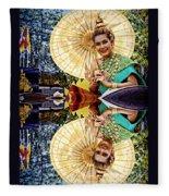 Queen Of Reflections Fleece Blanket