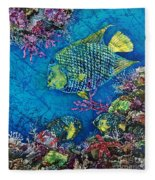 Queen Of The Sea Fleece Blanket
