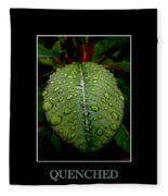 Quenched 2 Fleece Blanket