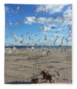 Quick Fly Away Fleece Blanket