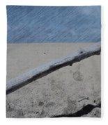 Quiet Beach Fleece Blanket