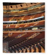 Quite Time Chicago United Center Before The Gates Open 02 Fleece Blanket