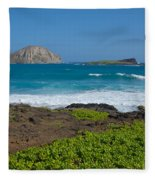 Rabbit Island Fleece Blanket