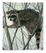 Up A Tree Fleece Blanket