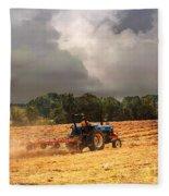 Race Against The Storm Fleece Blanket