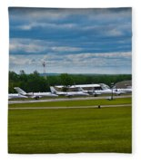 Race Week 2014 Pocono Airport  Fleece Blanket
