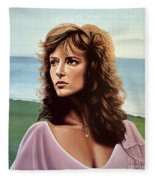 Rachel Ward Fleece Blanket