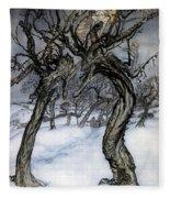 Rackham: Whisper Trees Fleece Blanket