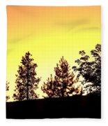Radiance Of Nature Fleece Blanket