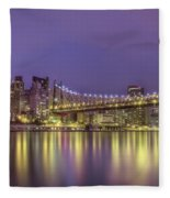 Radiant City Fleece Blanket