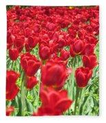 Radiant Red Fleece Blanket
