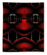 Radiation Dna Glow Fleece Blanket