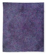 Radiation Violet  Fleece Blanket