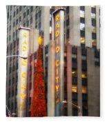 Radio City Music Hall II Fleece Blanket