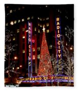 Radio City Music Hall Fleece Blanket
