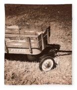 Radio Flyer Trav-ler Wagon Fleece Blanket