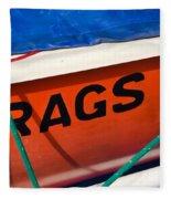 Rags Fleece Blanket