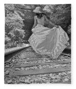 Rails Fleece Blanket