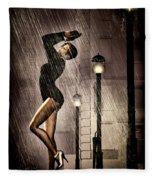 Rain Dance Fleece Blanket