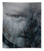 Rain Rain Go Away Fleece Blanket