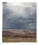 Approaching Storm The Painted Desert Arizona Fleece Blanket