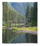 Rainbow Bridge Fleece Blanket