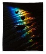Rainbow Drops Fleece Blanket