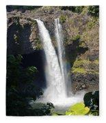 Rainbow Falls IIi Fleece Blanket