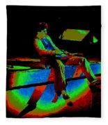 Rainbow Full Of Sound 1977 Fleece Blanket