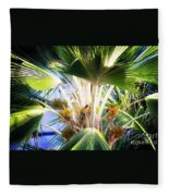 Rainbow Lorikeets Fleece Blanket