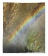 Rainbow Mist Fleece Blanket