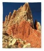 Rainbow Ridge Fleece Blanket