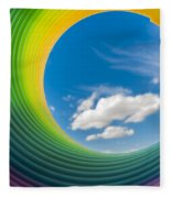 Rainbow Sky 2 Fleece Blanket