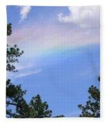 Rainbow Sky Fleece Blanket